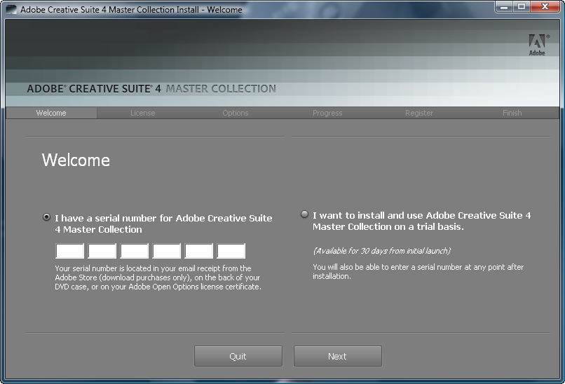 cs3 master collection activation code generator